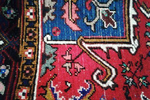 از رج و رجشمار در فرش چه میدانید