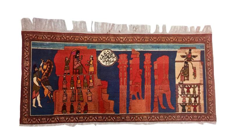 قالیچههای تصویری در گذر زمان