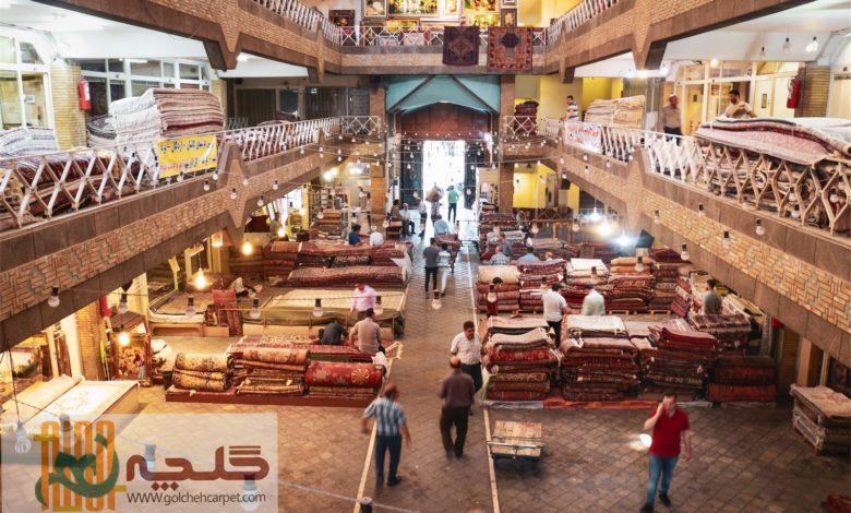 کاهش صادرات فرش تهران از 426 میلیون به 60 میلیون دلار