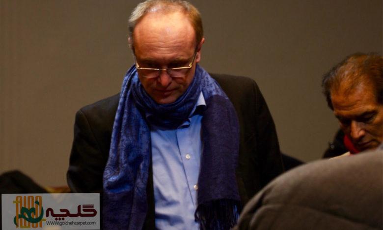 دکتر آلمانی در حراج فرش ایرانی