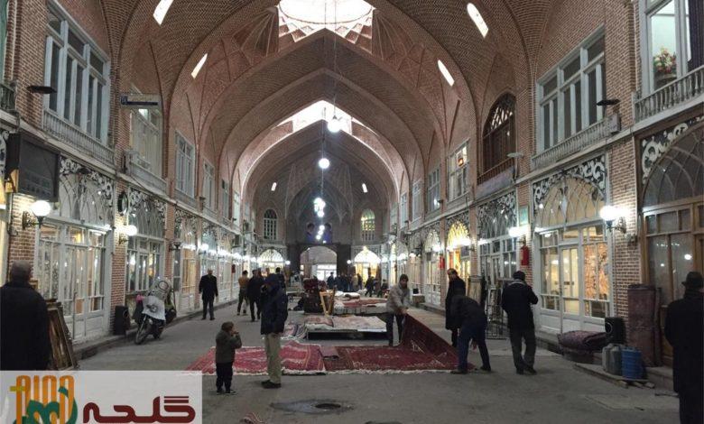 بازاری زیبا به نام بازار مظفریه تبریز