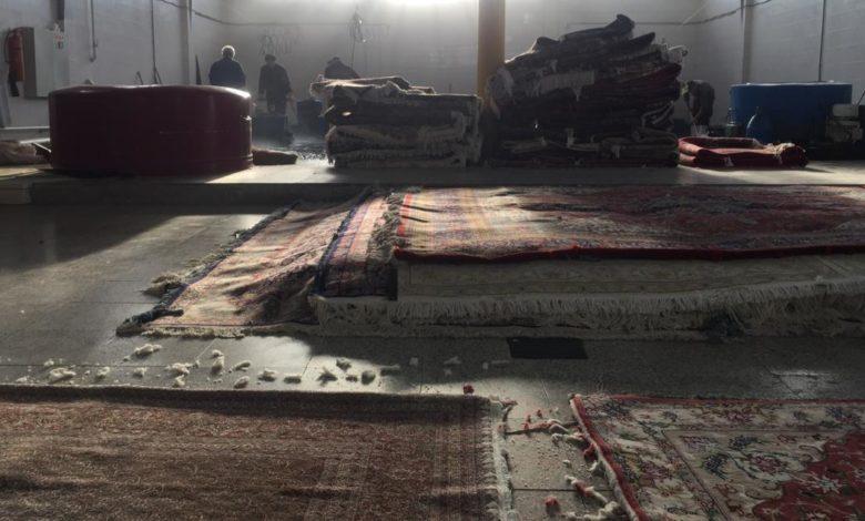 تکنیک های شستشو و درخشندگی فرش