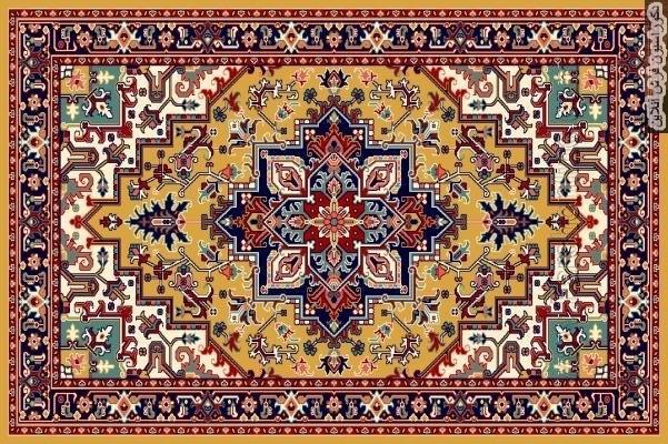 ویژگی های بافت فرش آذربایجان