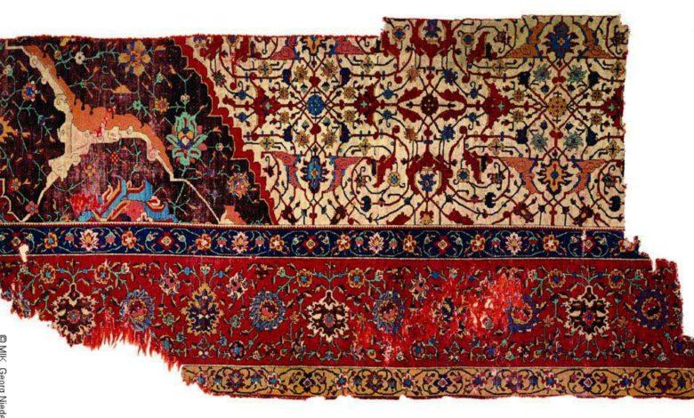 فرش پاره اسلیمی