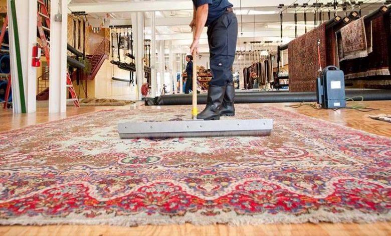 دواشور کردن فرش