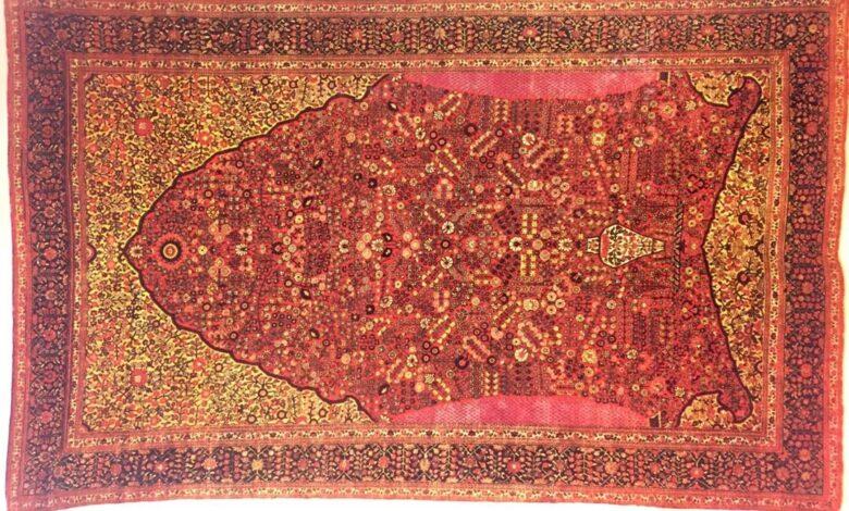 بررسی نقش ناظم در فرش های قشقایی