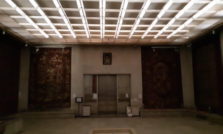 فاجعه بیخ گوش موزه فرش