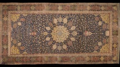 Photo of هشت قالی نفیس ایرانی از نگاه سیسیل ادواردز انگلیسی