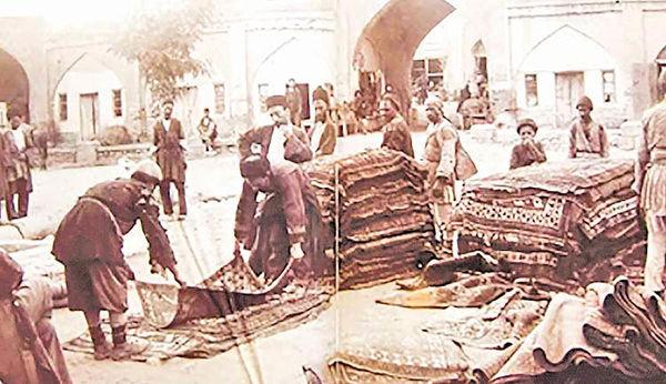 رنگ های جوهری در دوران قاجاریه