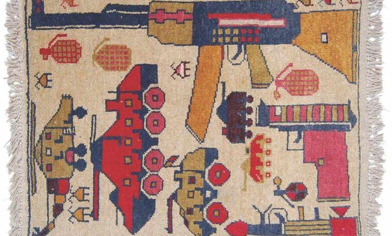 قالی های افغانستان