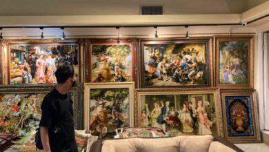 Photo of بازدید دیپلماتهای ژاپنی از بنیاد رسام عرب زاده