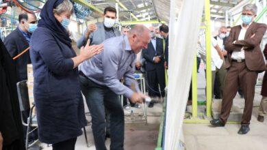 Photo of بازدید رئیس پارلمان سوئیس از زیلو و زیلوبافی میبد